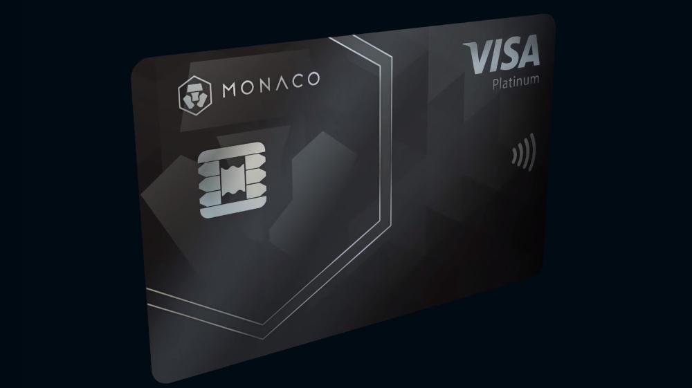 криптовалютная карта VISA MONACO