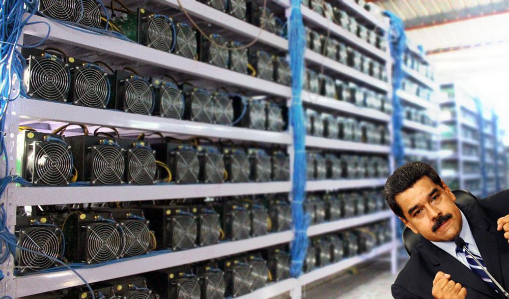 Майнинг криптовалюты Petro Венесуэла