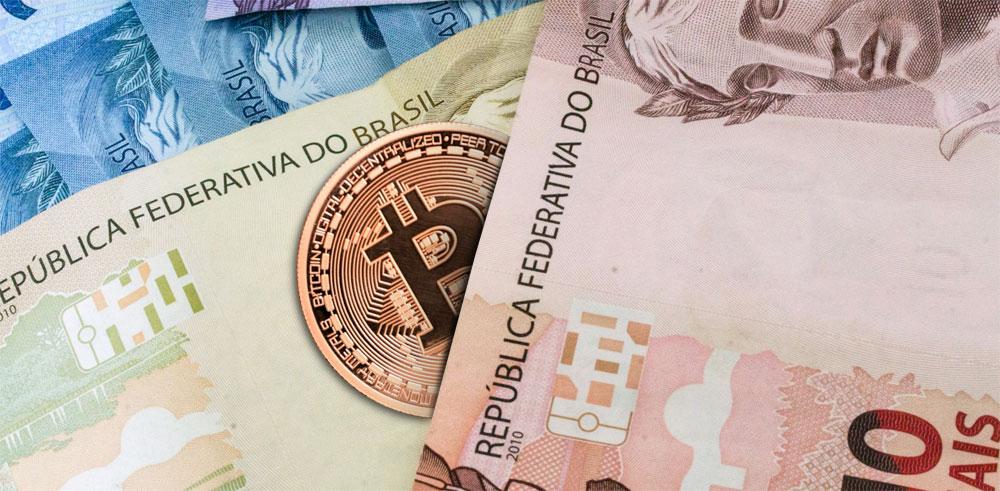 Real bitcoin Бразилия