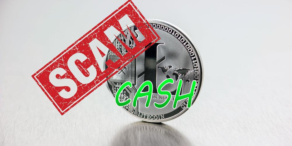 litecoin-Cash-scam