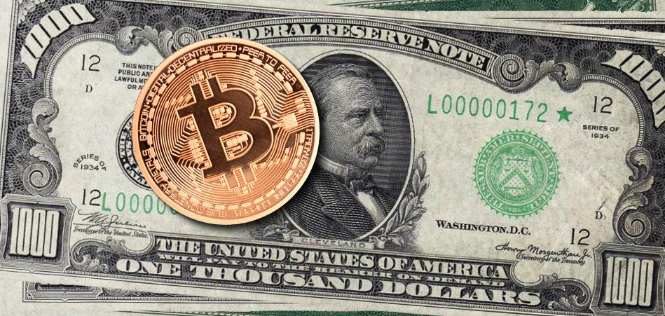 Биткоин $1000