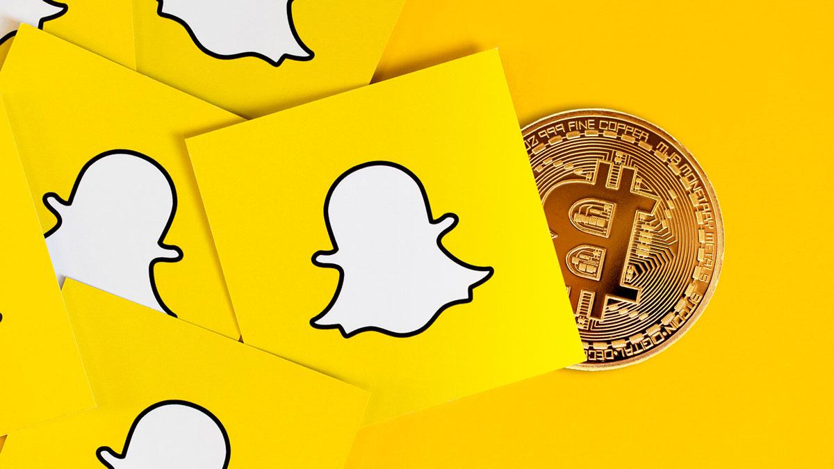 snapchat bitcoin