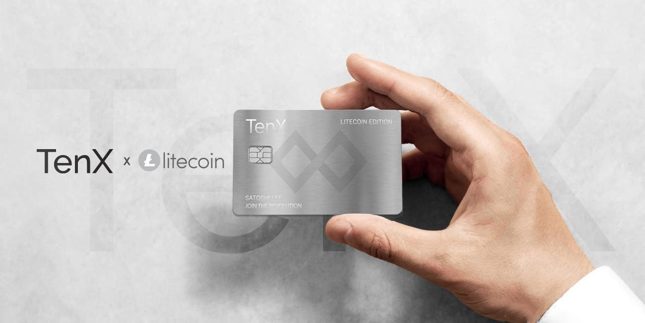 Litecoin (LTC) TenX card