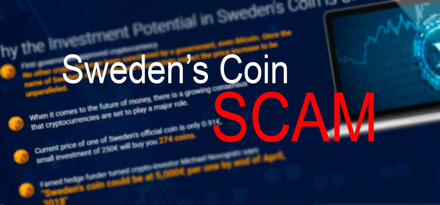 Sweden's Coin is SCAM