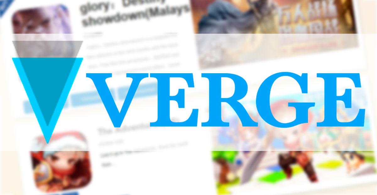 криптовалюта Verge партнер MoreFun game