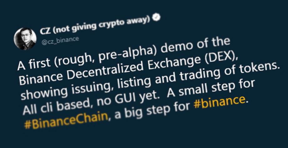 Binance Decentralized Exchange (DEX)