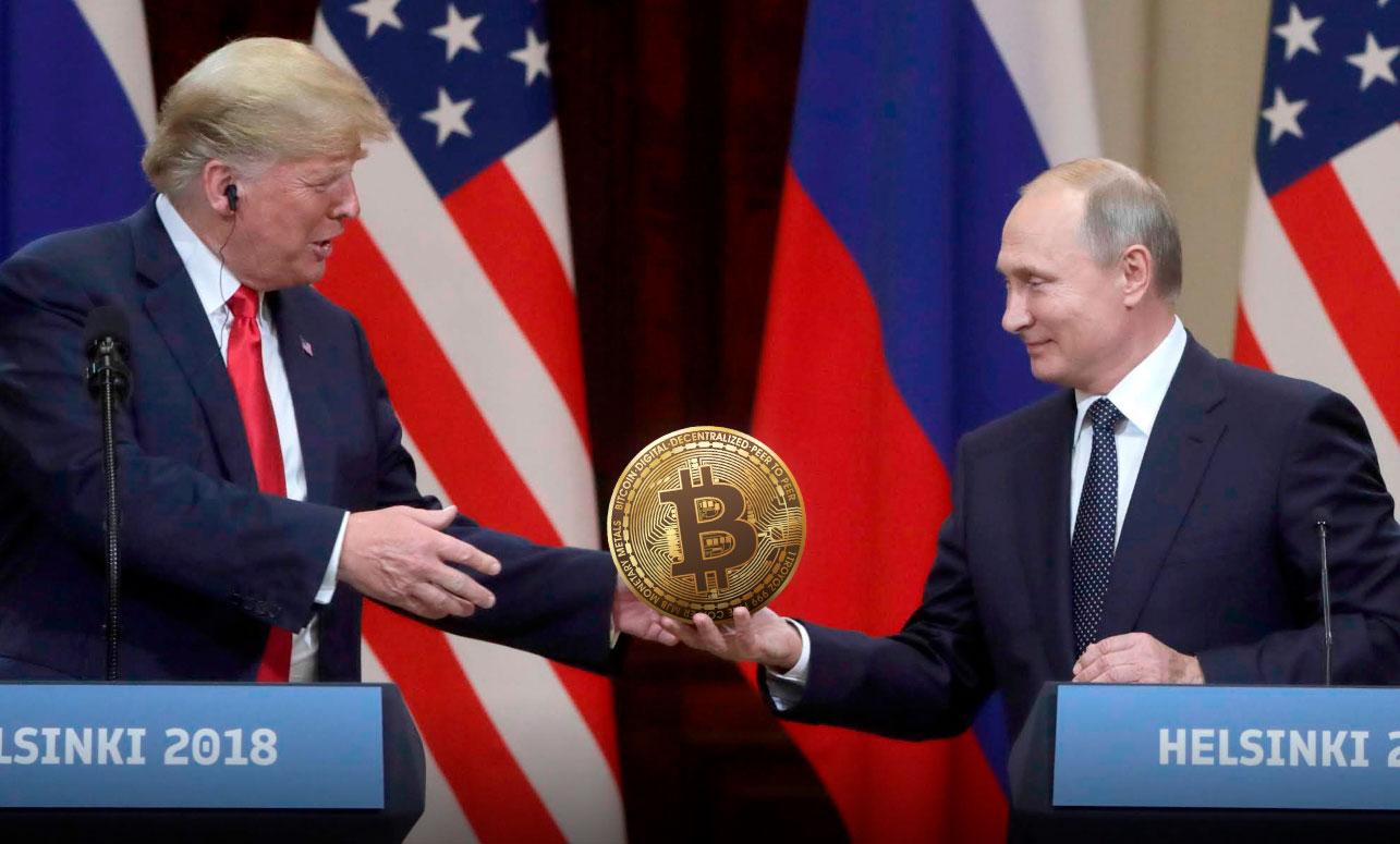 Россия США Санкции Криптовалюта