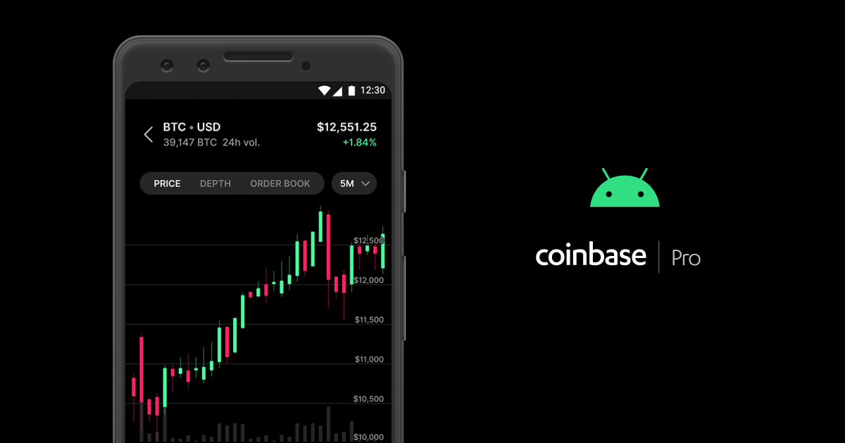 Coinbase Pro Android