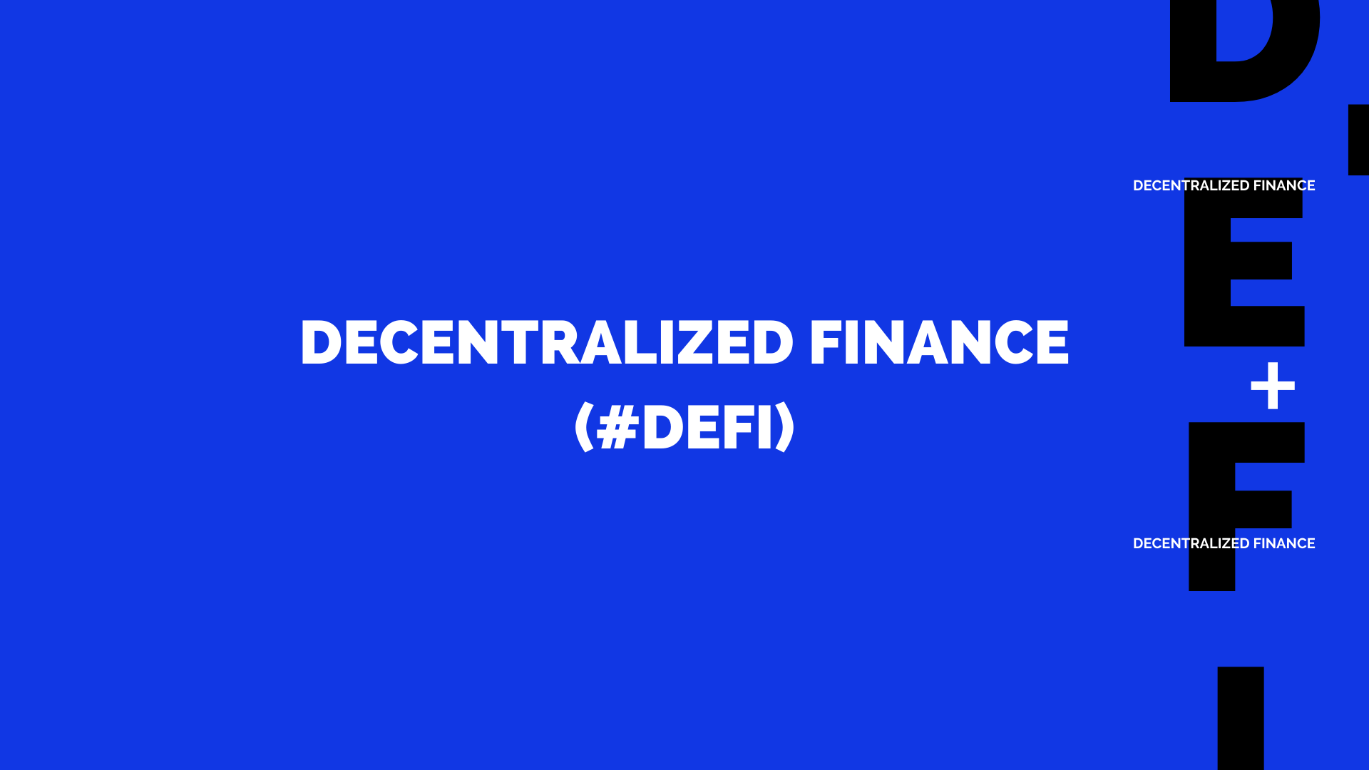DecentralizedFinance