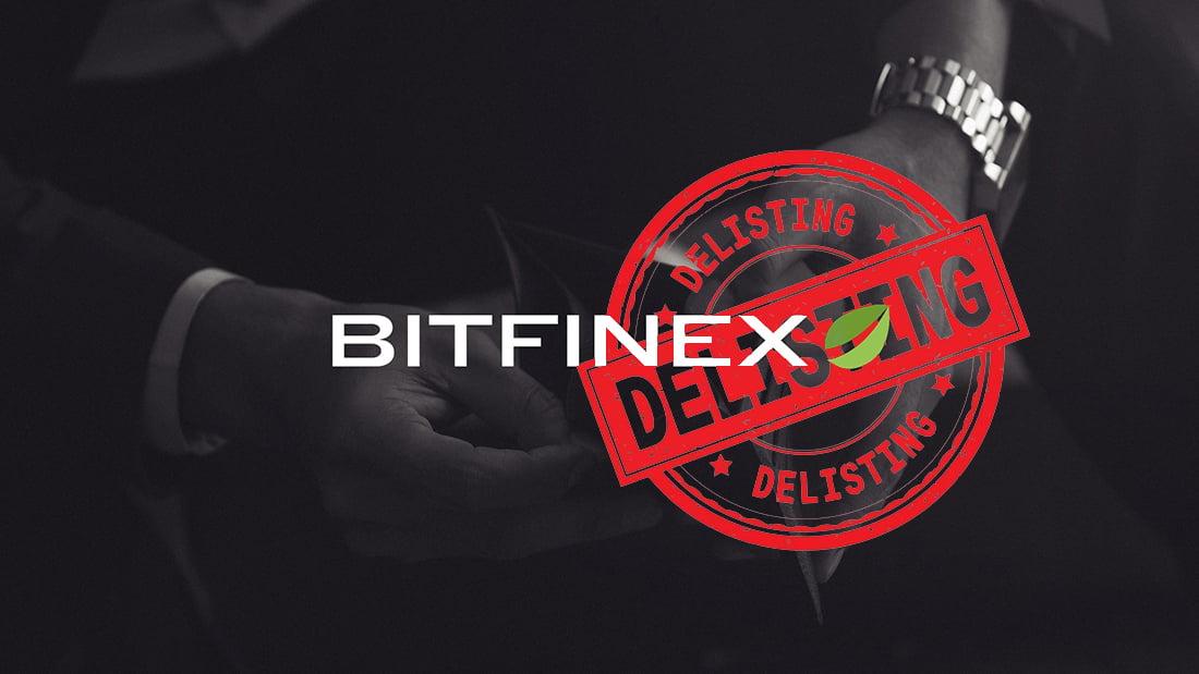 Bitfinex delisting