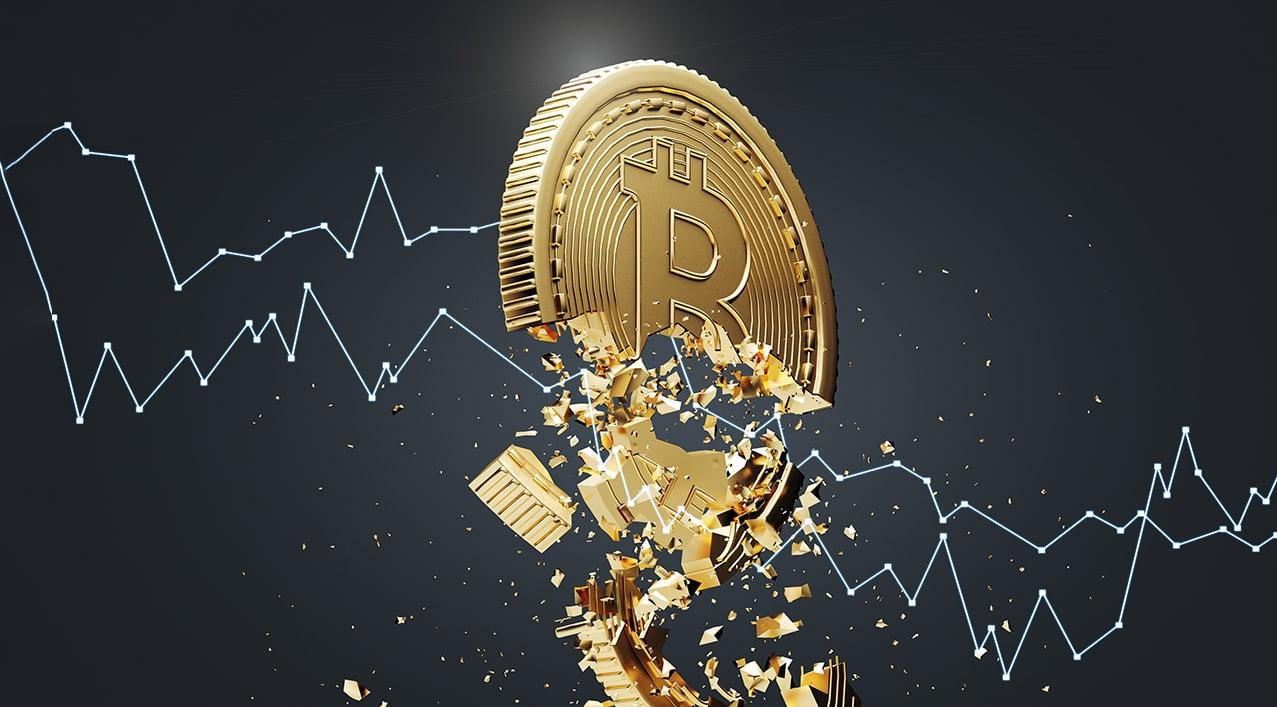 Транзакция крупного инвестора спровоцировала обвал рынка криптовалют