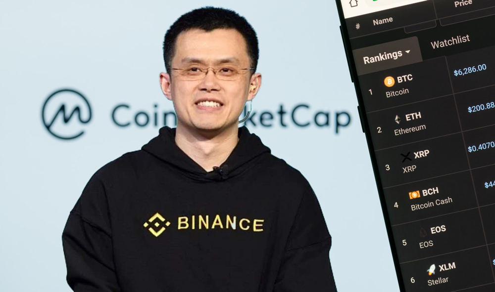 CoinMarketCap+Binance