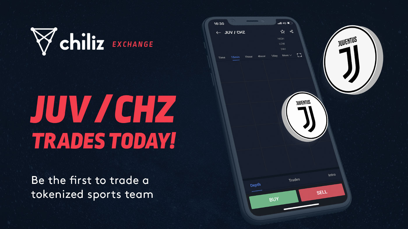 Токен для фанатов футбольного клуба «Ювентус» уже торгуется на бирже Chiliz