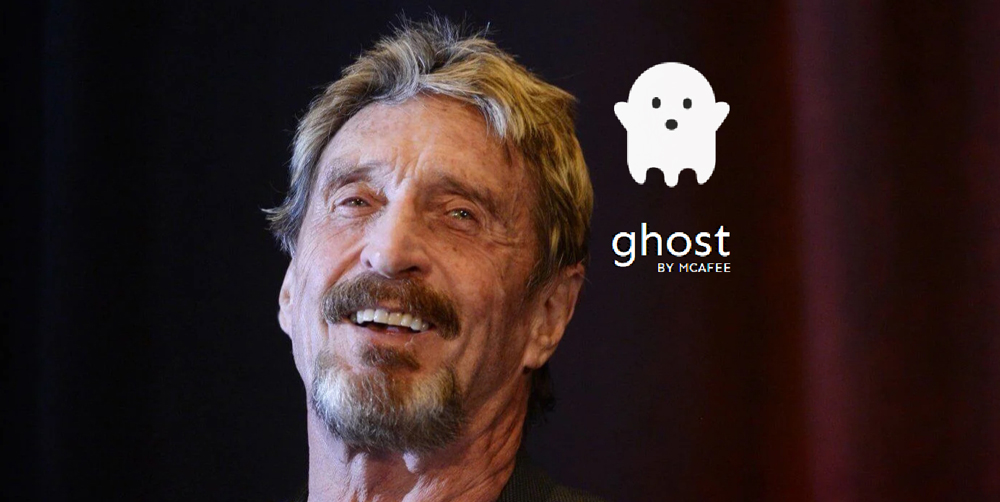 Джон Макафи покинул проект в области конфиденциальности Ghost