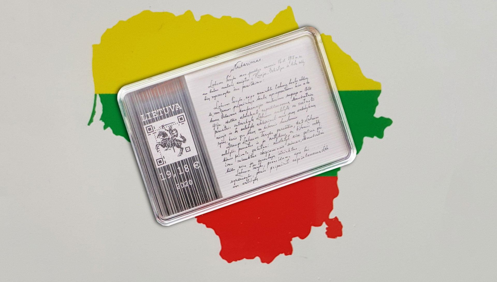 Литва запустила криптовалюту LBCOIN