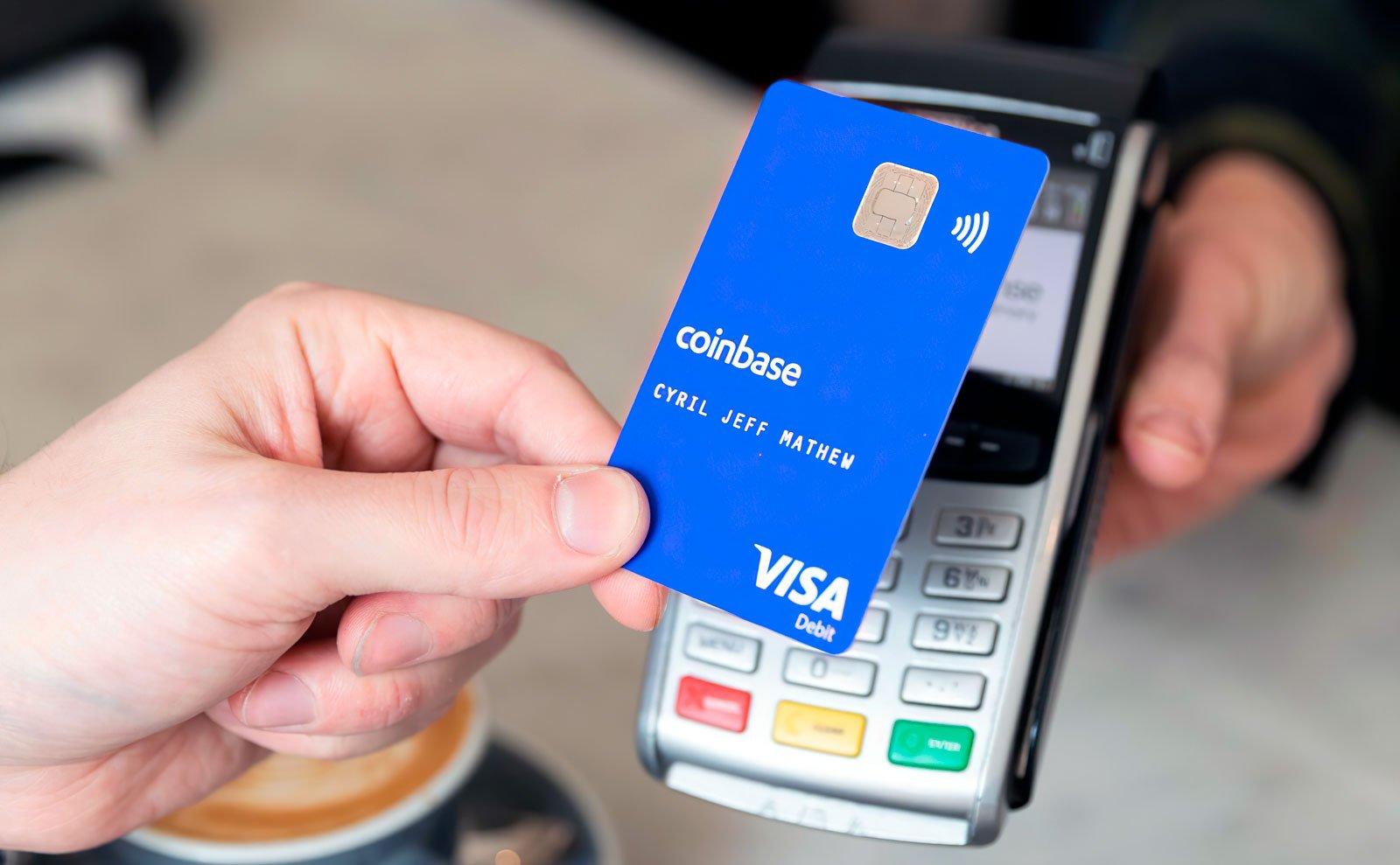 Coinbase запустит дебетовую карту с кэшбеком в криптовалюте