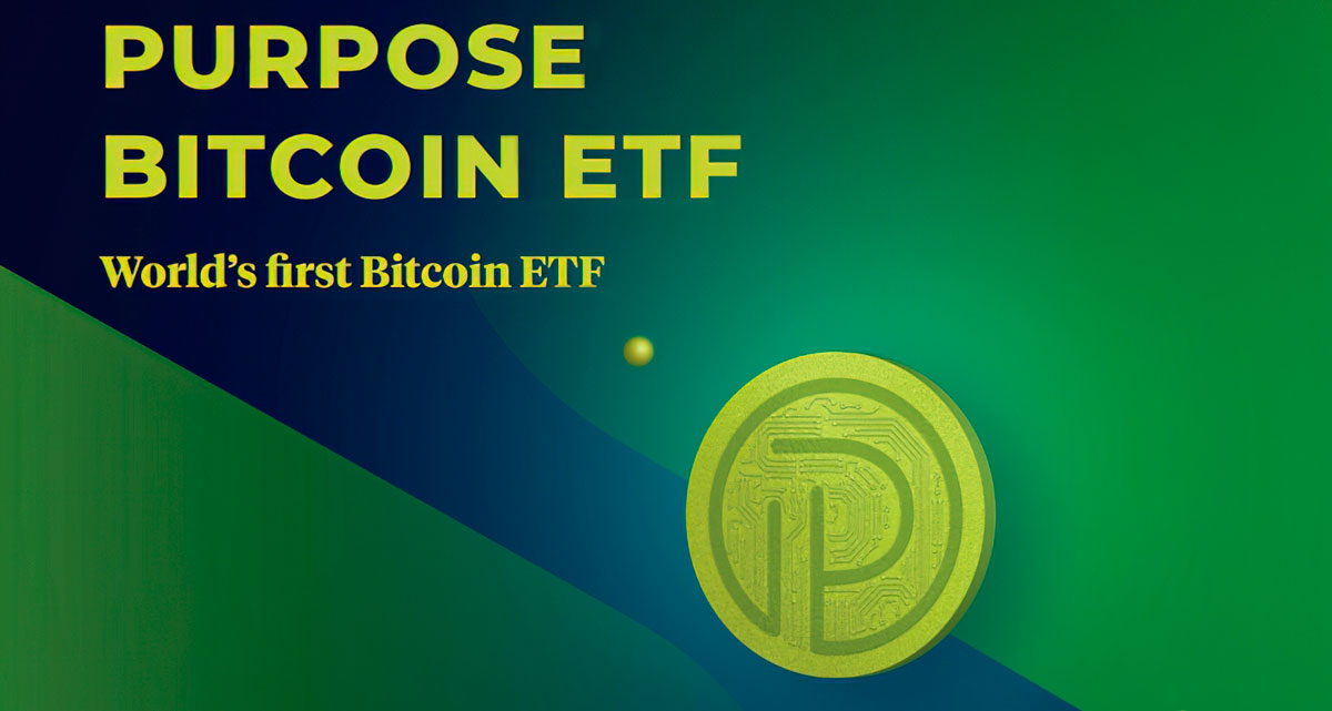 Purpose Bitcoin ETF
