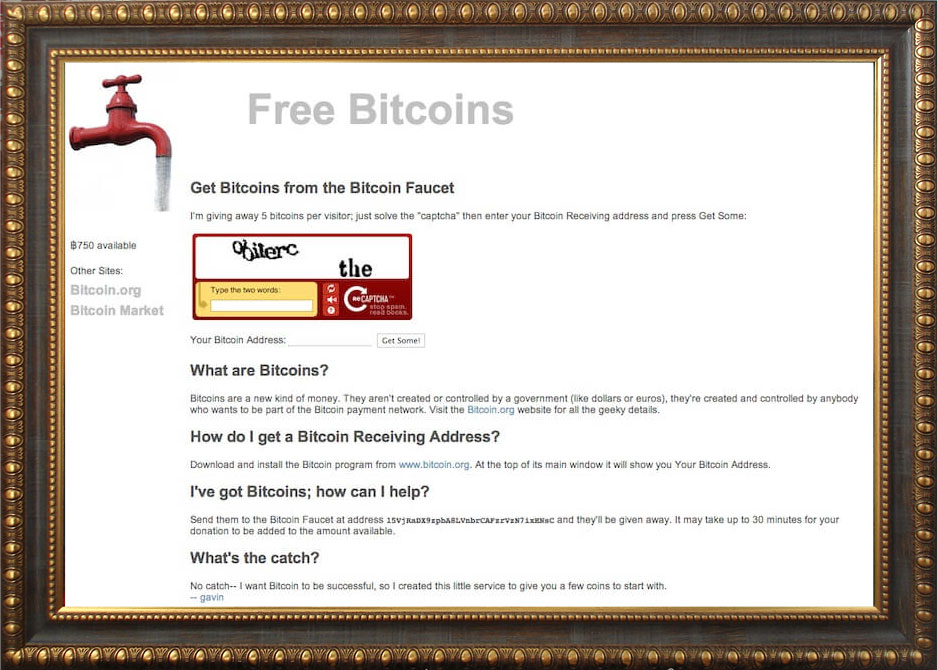 Биткоин-кран, который бесплатно раздал 19 700 BTC