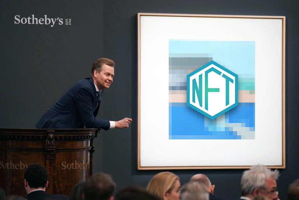 Sotheby's проведет продажу самого первого в истории NFT-токена